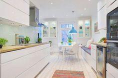 Adorable Bright and Cozy Scandinavian Interior Design for a Small Apartment, Gothenburg