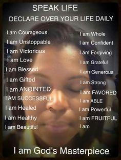 I Am God'a Masterpiece.