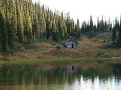Cabin near Revelstoke, British Columbia.