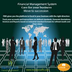 Incisive #Financial #Management #System care for your business!!! Incisive FMS gives you the platform to excel in your #business with the right direction track your accounts and transactions on defined standards. Generate quotations, invoices and reports based on industrial standard formats for refined results and clear vision Contact:03458288618-19 / sales@incisivesoft.com