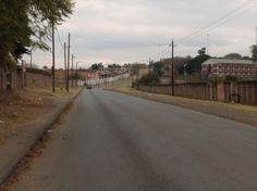 Looking left from Manayi Hall towards the route athletes will take on the #Mandelamarathon 42.2km route to the Nelson Mandela Capture Site photo IMG_2651.jpg