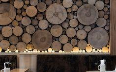 Mur de bois