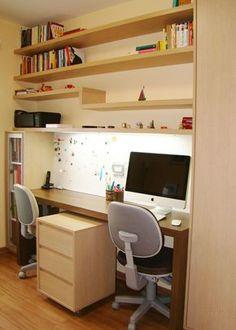 Profissionais do CasaPRO   HOME OFFICE   projetado por Carol Wolfart - designer de interiores