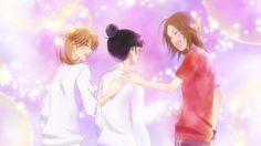 Sawako, Chizu y Ayane