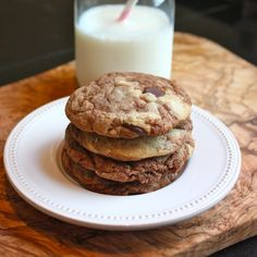 Cannella Vita: perfect nutella swirl cookies with chips. Can make sandwich with coconut mascarpone filling