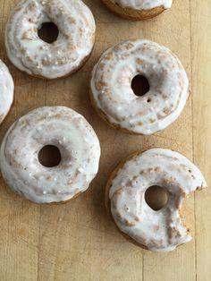 Pumpkin Protein Donuts — My Engineered Nutrition Protein Desserts, Protein Cookies, Protein Snacks, Protein Donuts, Healthy Donuts, Healthy Sweets, Healthy Baking, Healthy Snacks, Heathy Treats