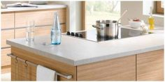 Once you have installed a laminate worktop you don't necessarily have to worry a lot about its maintenance. Best Kitchen Worktops, Laminate Kitchen Worktops, Cheap Kitchen, Work Tops, Cool Kitchens, Home Decor, Decoration Home, Room Decor, Home Interior Design