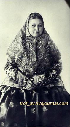 oI< Уральская казачка, конец 19 века