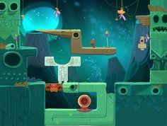 Concepts for Qumi-Qumi game by Polina Tsareva, via Behance