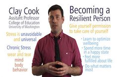 UWashingtonX: ECFS311x: Becoming a Resilient Person - The Science of Stress Management | edX