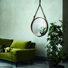 Gubi I Mirror I Sofa I Green