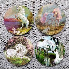 Unicorns, The Next Generation --  Unicorn Coaster Set