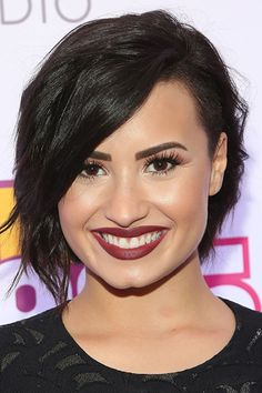 Short hair inspiration: Demi Lovato