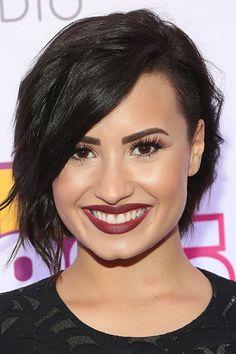 Short hair inspiration: Demi Lovato