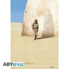 STAR WARS Poster Star Wars Anakin Skywalker teaser Episode 1 (98X68)