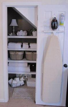 DIY Bathroom Closet Makeover
