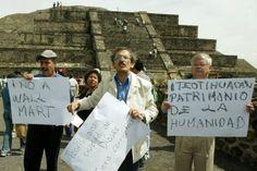 Enfrentan a Wal-Mart por sucursal en Teotihuacán, asegura que ellos estaban antes que las pirámides