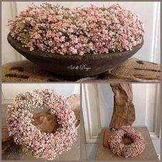 kranz - Lilly is Love Wreath Crafts, Diy Wreath, Wreaths For Front Door, Door Wreaths, Tulip Wreath, Deco Floral, Valentine Wreath, Craft Sale, Fall Wreaths