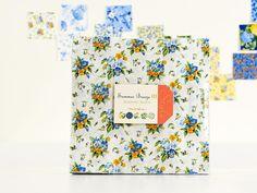 Moda Summer Breeze III by Sentimental Studios Layer Cake - White