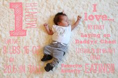 1 month old baby photo