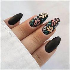 Spring Nail Art, Spring Nails, Summer Nails, Nagel Stamping, Matte Nail Art, Acrylic Nails, Gel Nail Designs, Nails Design, Cute Nail Art Designs