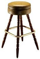 Restaurant Bar Stool | Wood Leg Bar Stool | Pub Stool