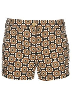TORY BURCH Patterned Short