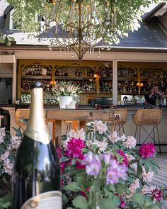 We are open!  Ein guter Start in die Woche beginnt mit einem schönen Erlebnis...im 151er wird jeder Besuch zum Erlebnis, also nichts wie los - take a seat & enjoy your day!  #151 #151er #bistrobar #wörthersee #lakelife #klagenfurt #flowerpower #terrasse #enjoy #food #drinks #champagne #photography #ography  Credits: @ography_film Bistro Bar, Klagenfurt, Restaurant Interior Design, Table Decorations, Film, Furniture, Home Decor, Patio, Movie