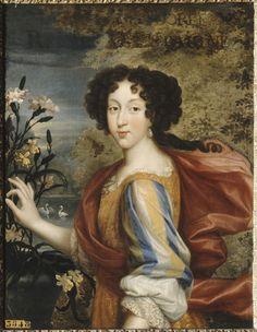 Мария Луиза Орлеанская. Портрет работы Пьера Миньяра. Между 1676 и 1679 годом.