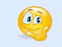 gifs animados emoticones pensando