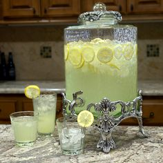 Arthur Court Fleur de Lis Drink Dispenser