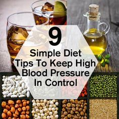 9 Simple Diet Tips To Keep High Blood Pressure In Control