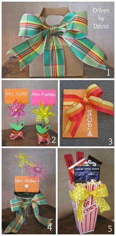 Teacher & Graduation Gifts: Five Simple Ways to Dress up a Gift Card