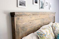 Diy Wood Headboard King Size   Home Design Ideas