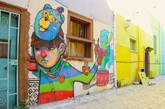 Valparaiso Street Art Chile Valpo Human Travelling