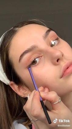 Glowy Makeup, Cute Makeup, Pretty Makeup, Simple Makeup, Natural Makeup, Eyelashes Makeup, Natural Blush, Natural Lips, Blush Makeup
