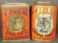 Tiger Tobacco Items : Lot 1005