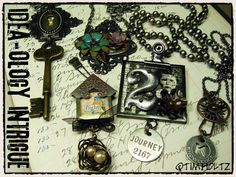 tim holtz creations | await you as we discover the intrigue of idea-ology…