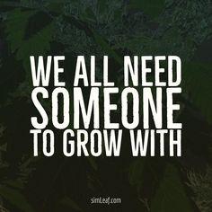Who do you grow with?