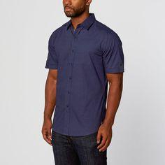 SMASH Trends // Casual Button-Up  // Blue (L)
