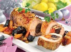 Ruladă exotică din pulpă de porc