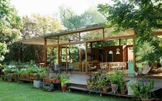 I Buenos Aires, et drømmehus, der dialoger med naturen Exterior Design, Interior And Exterior, House In Nature, Farm Stay, Tropical Houses, Small House Plans, Future House, Modern Architecture, Home And Garden