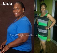 Today's featured weight loss before and after: Jada lost 135 pounds with hard work and determination after a major health crisis. This proud mom of 4 credits her weight loss to her trainer, working out consistently and clean eating.