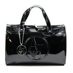 Armani Jeans – Bowling Bag / Handtasche Schwarz, 05229-RJ-12   Designer Handtaschen