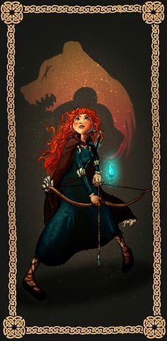 Merida by ~yosilog on deviantART