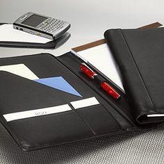 Essential Folio - Leather Portfolio, Leather Pad Holder, Padfolio