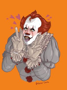 and here's an actual picture of pennywise becoming one of my worst fears i've never regretted drawing something more than this– Pennywise The Dancing Clown, Yes I Did, Draw Something, Fnaf, Daddy, Kawaii, Clowns, Drawings, Cute