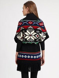 Ralph Lauren Blue Label - Nordic Knit Vest - Saks.com