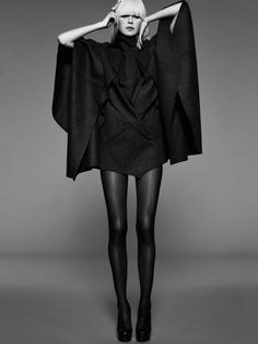 Black fashion Blondie black
