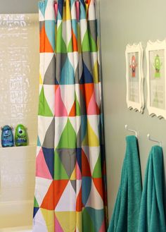 TashandCompany: Colorful Bathroom Makeover for Two Little Monsters